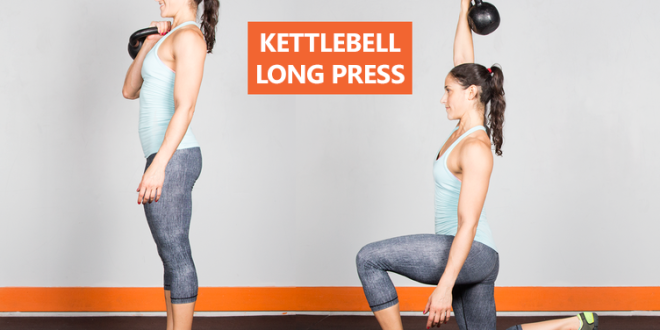 Kettlebell long press