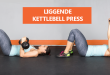 Liggende kettlebell press