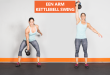 een arm kettlebell swing